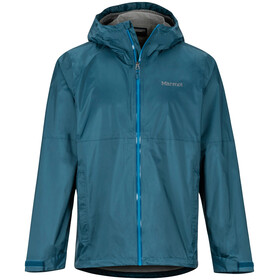 Marmot PreCip Eco Plus Jas Heren, denim